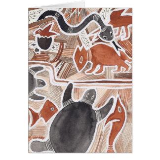 Sonho australiano #5 cartão comemorativo