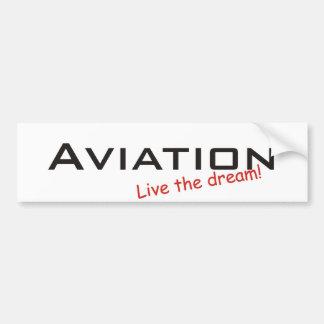 Sonho/aviação Adesivo Para Carro