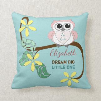 Sonho cor-de-rosa do travesseiro do coxim da almofada
