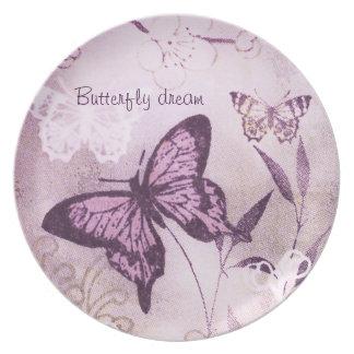 Sonho da borboleta louças de jantar