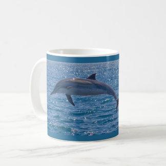 Sonho da caneca de café do golfinho de Califórnia