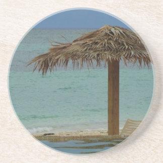 Sonho da ilha porta copos de arenito