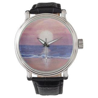 Sonho da praia de Flagler Relógio De Pulso