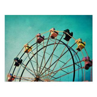 Sonho de água-marinha - cartão da fotografia do