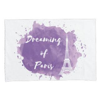 Sonho de Paris - caixa do travesseiro