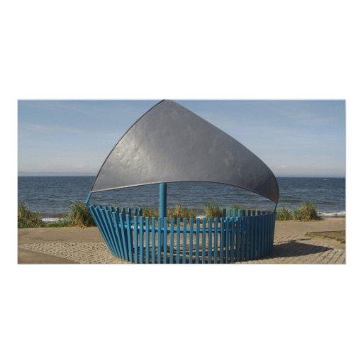 sonho do beira-mar cartoes com foto