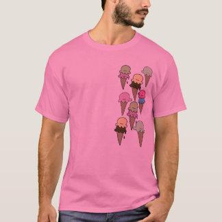Sonho do sorvete camiseta