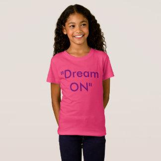 Sonho no t-shirt camiseta
