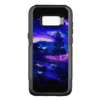 Sonhos Amethyst de Bali da safira Capa OtterBox Commuter Para Samsung Galaxy S8+