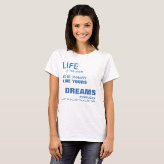 Sonhos Camiseta
