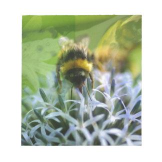 Sonhos da abelha bloco de notas