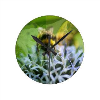 Sonhos da abelha relógio redondo