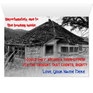 Sonhos da aposentadoria cartão comemorativo