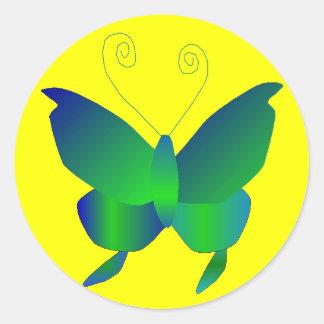 Sonhos da borboleta adesivo