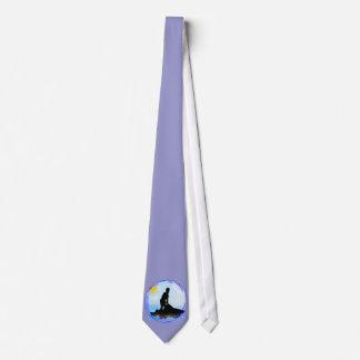 Sonhos do esqui do jato gravata