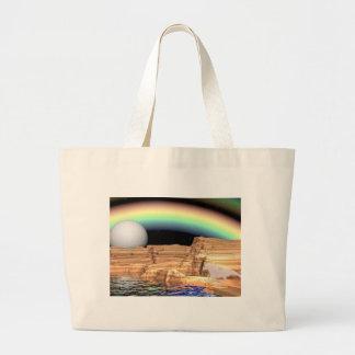 sonhos do unicórnio da arte 3d bolsa para compras