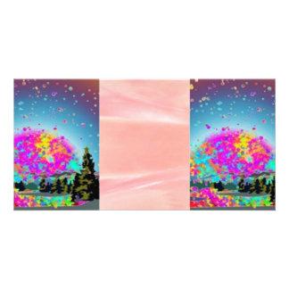 Sonhos doces cartão com foto