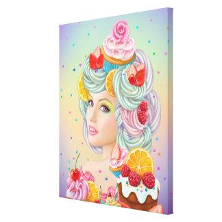 Sonhos doces do impressão das canvas