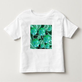 Sonhos esmeraldas do cetim - trevo irlandês camiseta