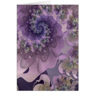 Sonhos turbulentos cartão comemorativo
