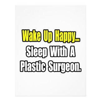 Sono com um cirurgião plástico panfletos personalizado