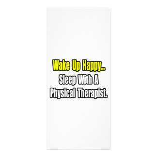 Sono com um fisioterapeuta 10.16 x 22.86cm panfleto