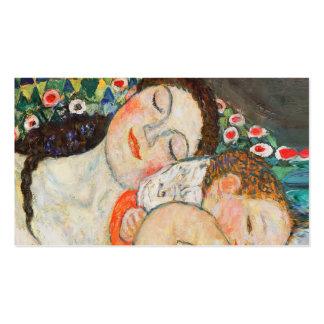 Sono da mãe e da criança cartão de visita