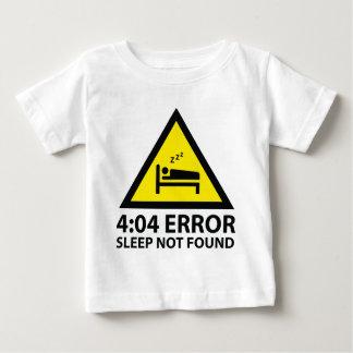 Sono do erro do 4:04 não encontrado tshirt