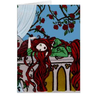 Sono Rapunzel Cartão Comemorativo