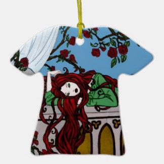 Sono Rapunzel Ornamento De Cerâmica Camiseta