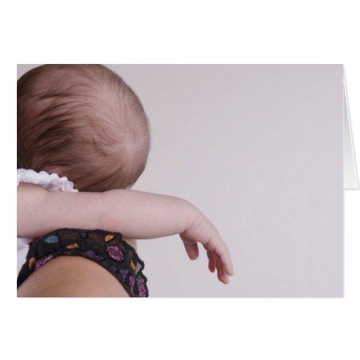 Sono recém-nascido cartão