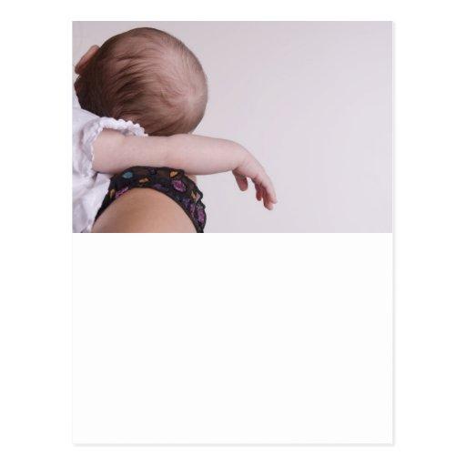 Sono recém-nascido cartao postal