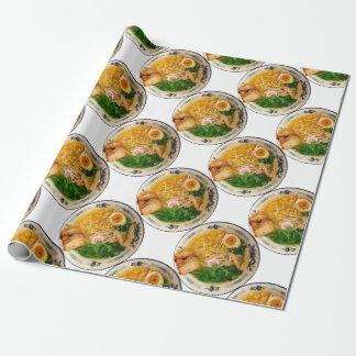 Sopa de macarronete dos Ramen da carne de porco Papel De Presente