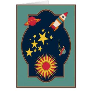 Sopre fora o cartão de Rocket