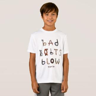Sopro mau dos parafusos - a camisa atlética do