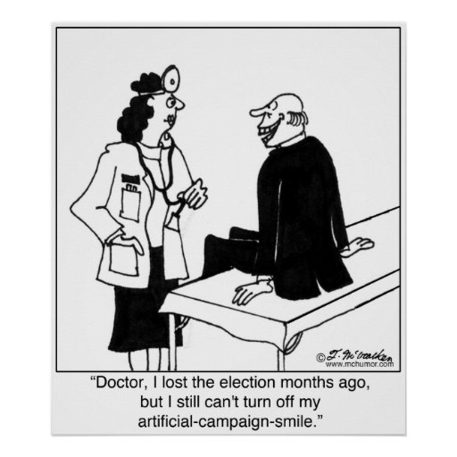 Sorriso artificial permanente da campanha poster
