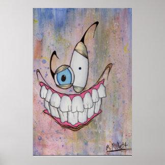 Sorriso assustador poster