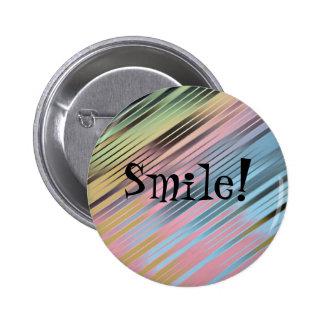Sorriso! Bóton Redondo 5.08cm