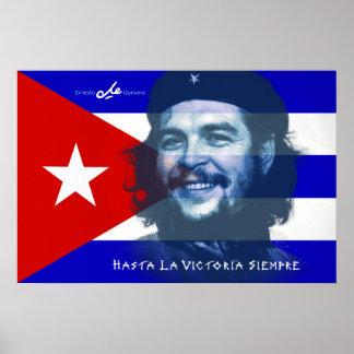 Sorriso de Che Guevara Pôsteres