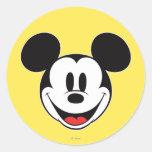 Sorriso de Mickey Mouse Adesivos