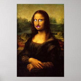 Sorriso de Mona Lisa? Poster