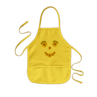 Sorriso de olhos brilhantes avental infantil