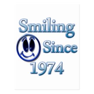 Sorriso desde 1974 cartões postais