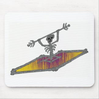 Sorriso do amarelo do caiaque mouse pad