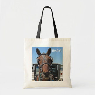 Sorriso do cavalo de Amish! Bolsa Para Compra