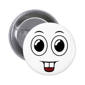 Sorriso do dente de fanfarrão bóton redondo 5.08cm