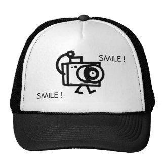 Sorriso! Eu quero tomar sua imagem Bone