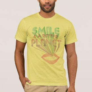 sorriso funky 4 das citações um t-shirt melhor do camiseta