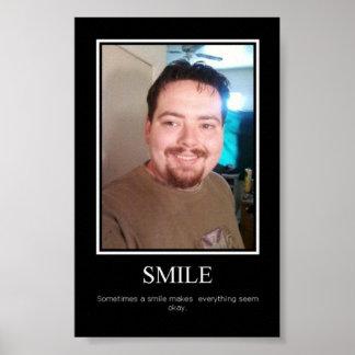 sorriso inspirador do poster