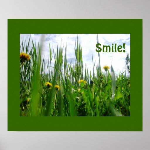 Sorriso! Posteres